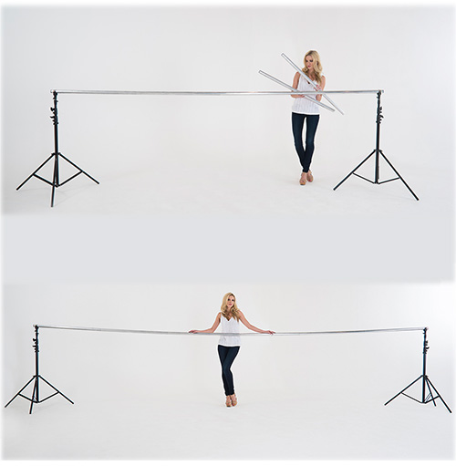Lastolite Solo Background Support Extensions 2m (6ft 5in) - 1143