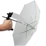 Lastolite Brolly Grip Kit with Handle and 50cm Translucent Umbrella