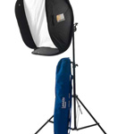 Lastolite Ezybox Hotshoe Kit 76 X 76Cm (30in X 30in) With Stand, Tilthead And Handle