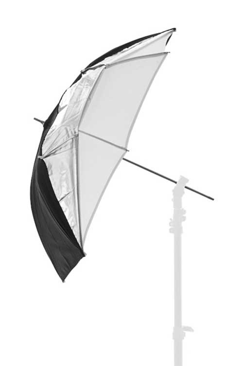 Lastolite Umbrella Dual 100cm (40in) Black/Silver/White