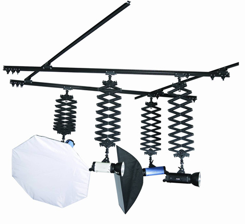 Ceiling Track System  - 4m x 3m, 4 Pantographs
