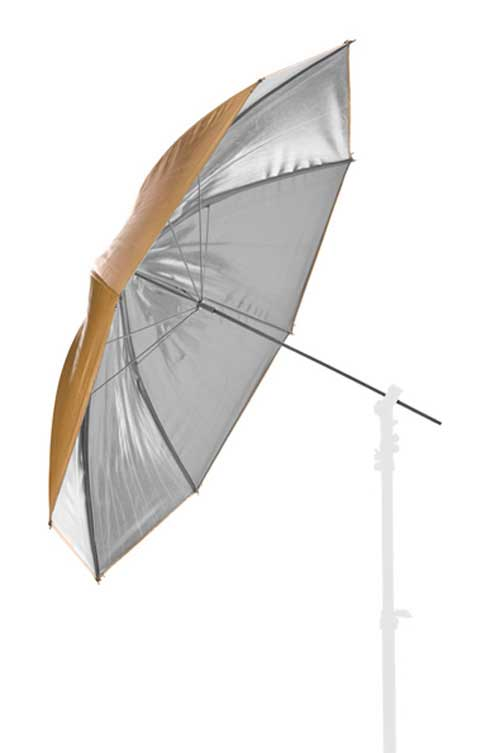Lastolite Umbrella Reversible 100cm (40in) Silver/Gold