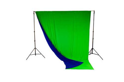 Lastolite Chromakey Curtain Reversible 3 X 3.5m (10x12ft) Blue/Green