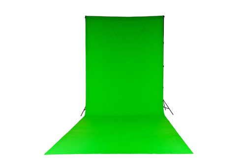 Lastolite Chromakey Curtain 3 X 7m (10x24ft) Green