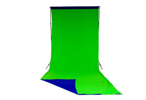 Lastolite Chromakey Curtain Reversible 3 X 7m (10x24ft) Blue/Green