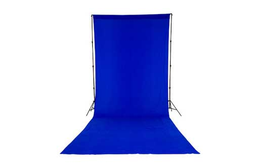 Lastolite Chromakey Curtain 3 X 7m (10x24ft) Blue