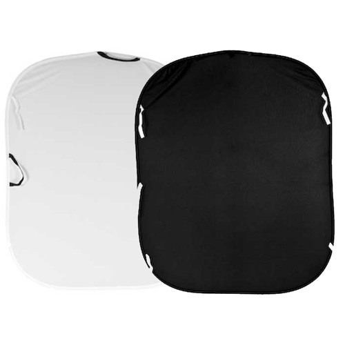 Lastolite Plain Collapsible 1.8 X 2.1M (6ft X 7ft) Black/ White