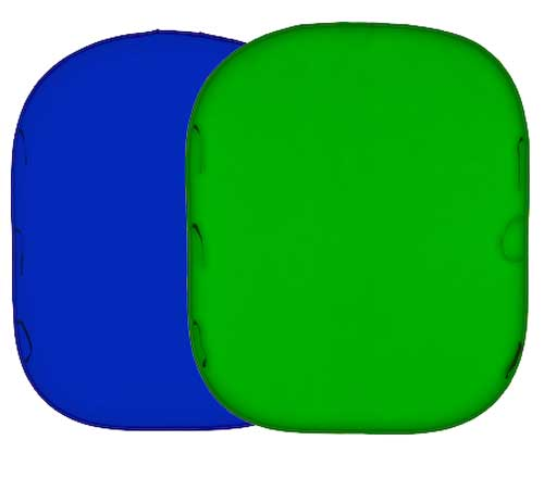 Lastolite Collapsible Reversible 1.8 X 2.1m (6x7ft) Chromakey Blue/Green