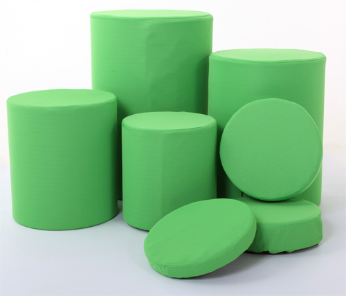 Lastolite Chromakey Green  Covers For Posing Tubs (8014)