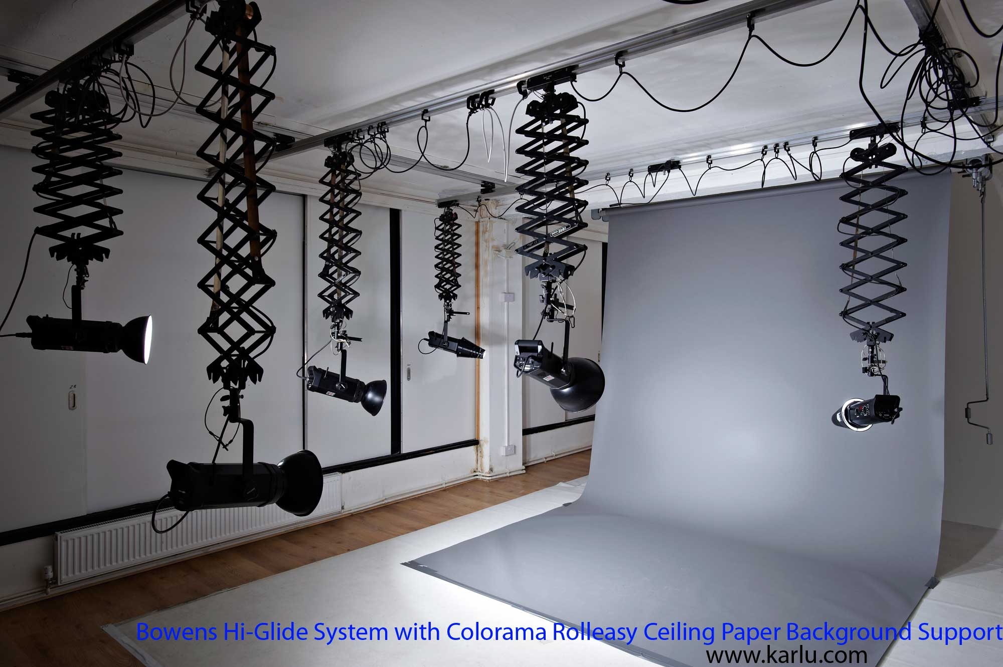 Beautiful Pro Photo Studio Ceiling Rail Track System   Pranksenders