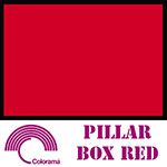 Colorama ColorGloss 1m x 1.3m PVC Sheet - Pillar Box Red