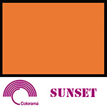 Colorama ColorGloss 1m x 1.3m PVC Sheet - Sunset Gloss