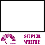 Colorama ColorGloss 1m x 1.3m PVC Sheet - Super White Gloss