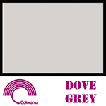 Colorama ColorMatt 1m x 1.3m PVC Sheet - Dove Grey
