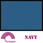 Colorama ColorMatt 1m x 1.3m PVC Sheet - Navy