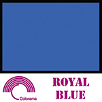 Colorama ColorMatt 1m x 1.3m PVC Sheet - Royal Blue