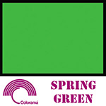 Colorama ColorMatt 1m x 1.3m PVC Sheet - Spring Green