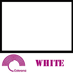 Colorama Paper Roll 3.55 x 30m White 82