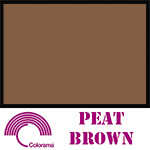Colorama Paper Roll 135x1100cm Peat Brown 80