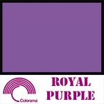 Colorama Paper Roll 135x1100cm Royal Purple 92