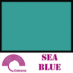 Colorama Paper Roll 2.72 x 11m Sea Blue 85