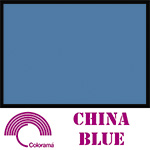 Colorama Paper Roll 135x1100cm China Blue 15