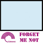 Colorama Paper Roll 2.72 x 11m Forget-me-not 53
