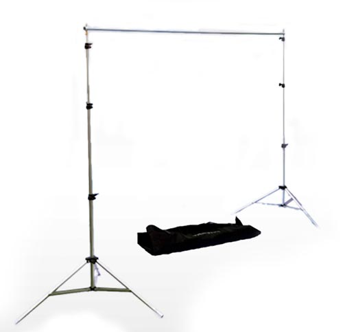 Interfit Background Support with Telescopic Crossbar - Large.