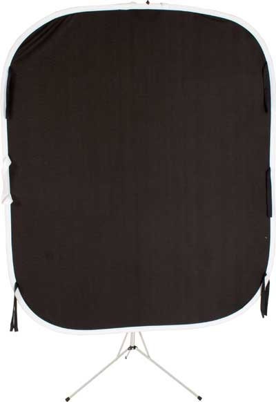 Lastolite Reversible Collapsible Background Black / White 5621