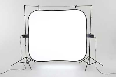 "Lastolite HiLite 4'6""x3'6"") Illuminated Collapsible Background 8990"